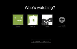Netflix-users